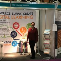 Induction Junction stand at CIPDACE18
